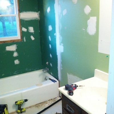 Gutting our Guest Bathroom