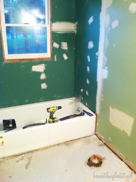 bathroom re-do