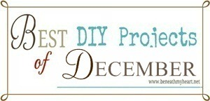 """Best DIY Projects of December"" Linky Party!"