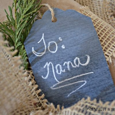 Wisteria Catalog Inspired Chalkboard Placecards
