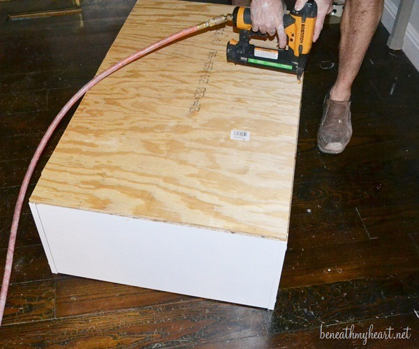yard stick coffee table