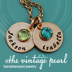 The Vintage Pearl Giveaway {two $50 Gift Certificates!}