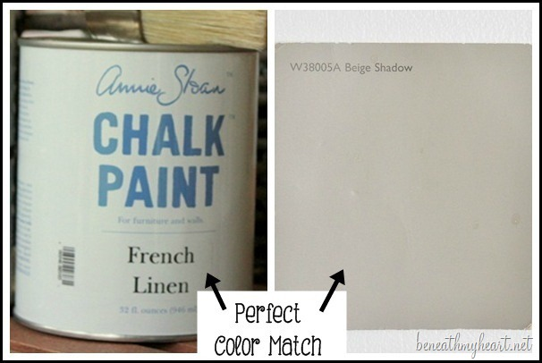The perfect latex paint color match to annie sloan s for Chalk paint at sherwin williams