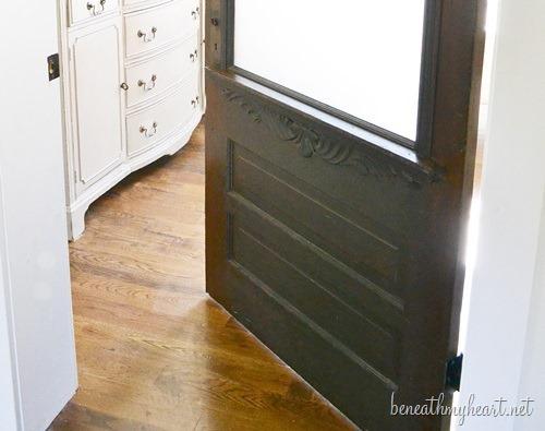 Antique Bathroom Door Makeover And 50