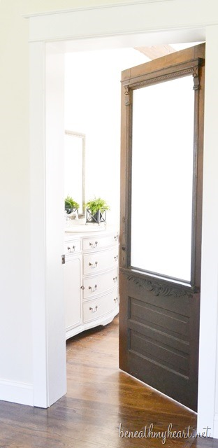 Bathroom Door Makeover antique bathroom door makeover {and $50 target gift card winner