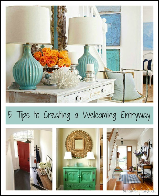 Foyer Diy Guide : Tips to creating a welcoming entryway beneath my heart