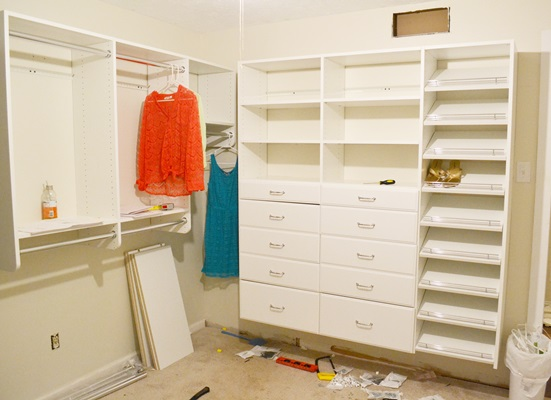 """How """"easy"""" was it to install my EasyCloset?"""