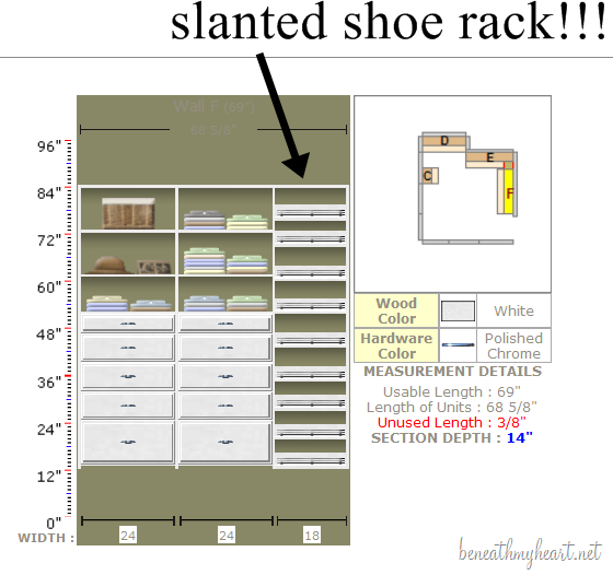 Image Result For Closet Design Dimensions