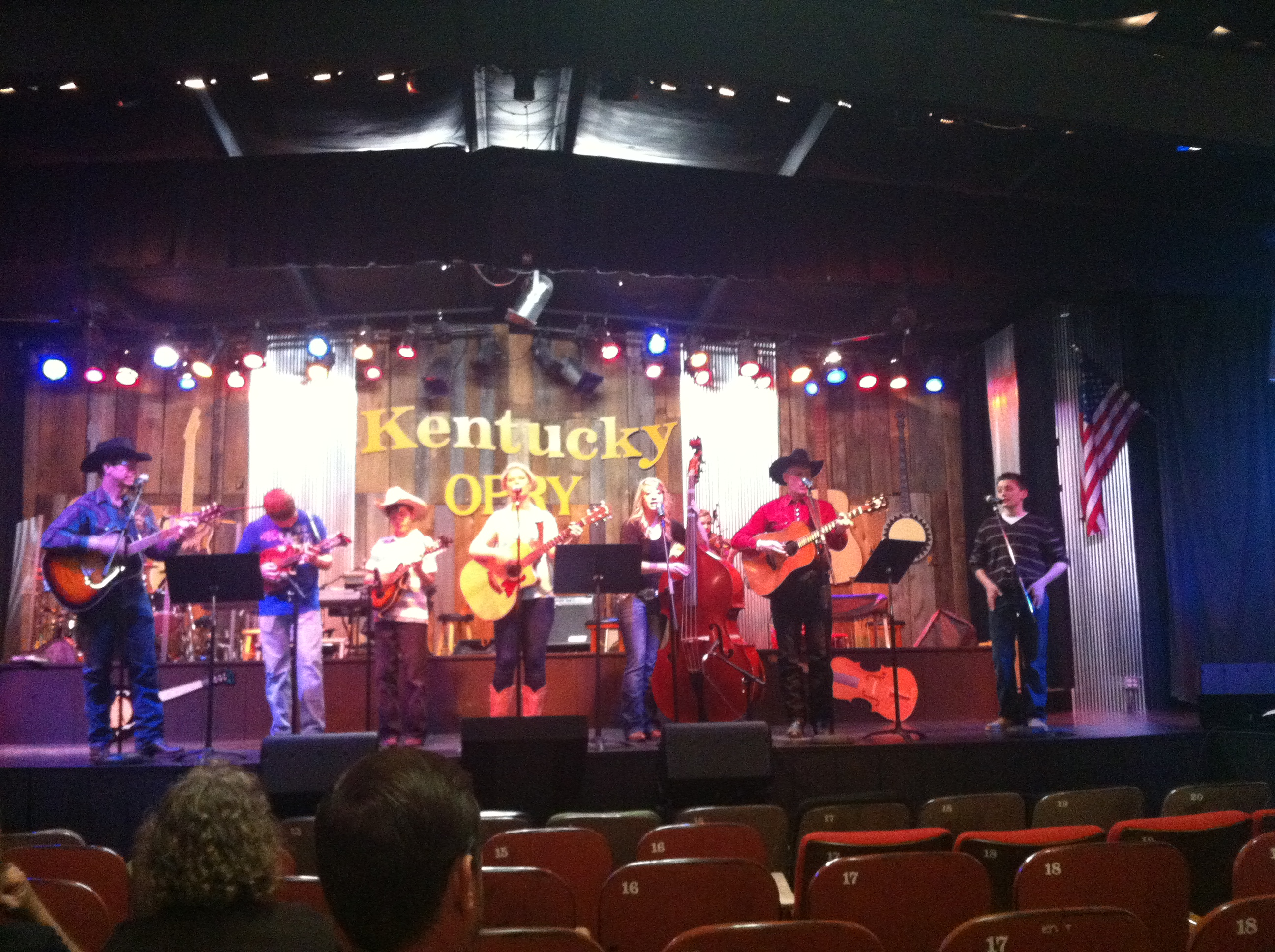Jonathan's Performance at the Ky Opry!