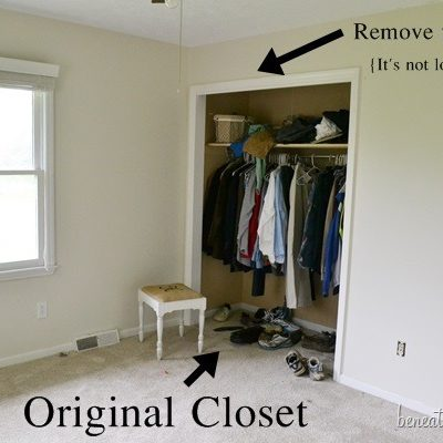 Progress we've made on our Master Closet