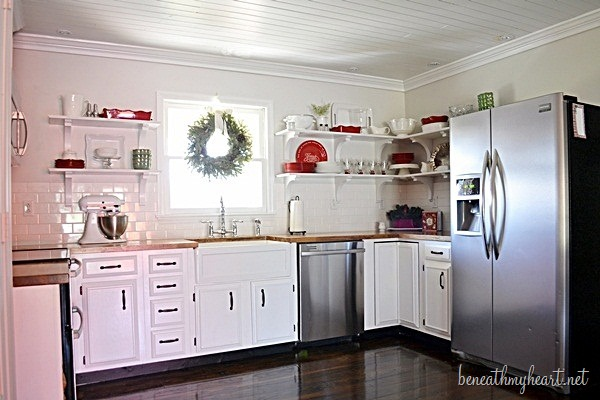 kitchen makeover after