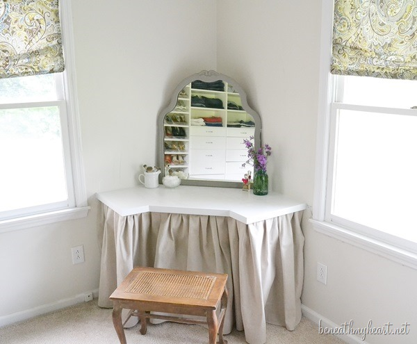 DIY dressing table Dressing Table  Beneath My Heart