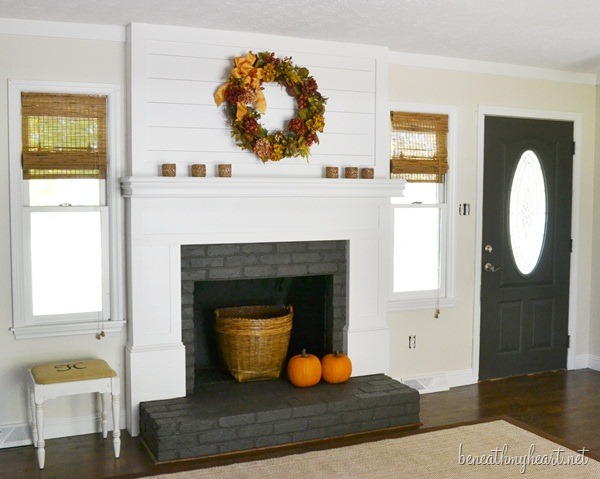 "fireplace makeover ""after"""