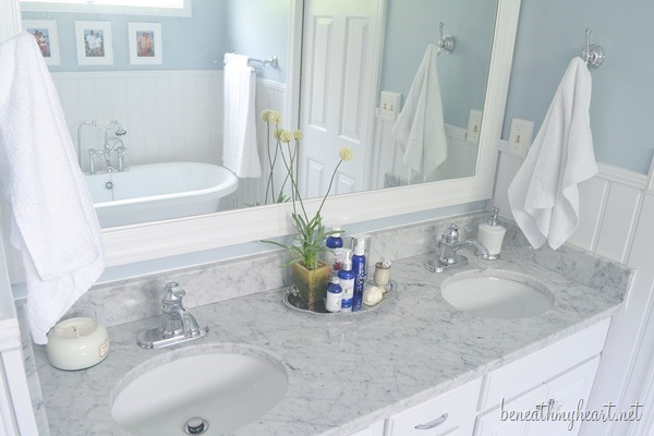 Bathroom Makeover Reveal