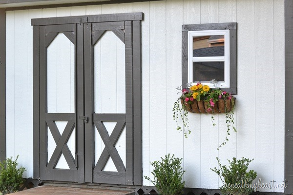 Shed Makeover {with 3M}