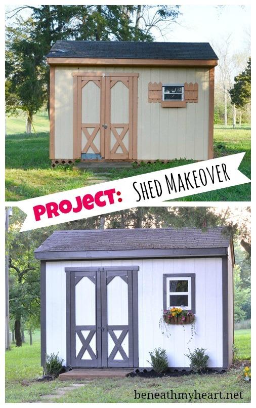 shed makeover