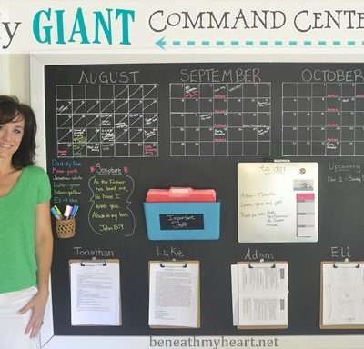 Giant Wall Command Center {for my office}