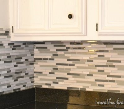 A New Tile Backsplash!