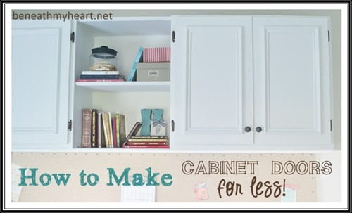 how to make cabinet doors