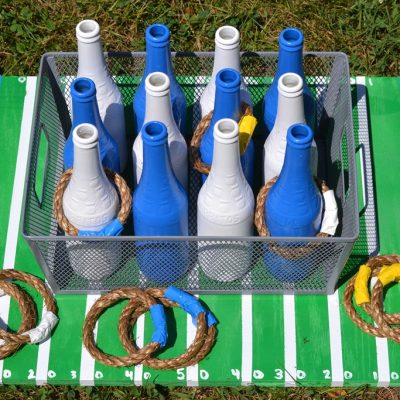 DIY Tailgating Ring Toss Game