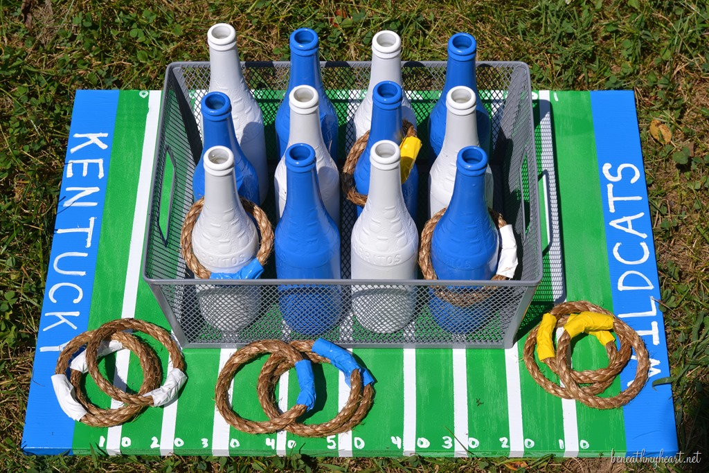 Diy Tailgating Ring Toss Game Beneath My Heart