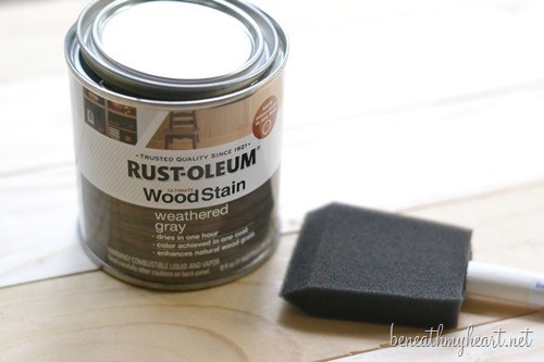 rustoleum weathered gray