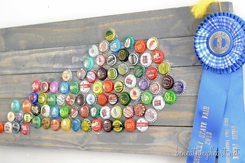 bottle cap state art