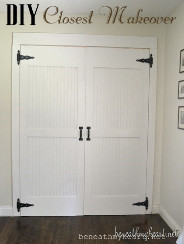 Elegant Bedroom Closet Door Makeover