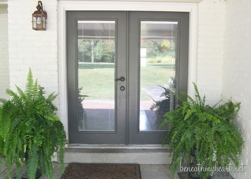 back door makeover