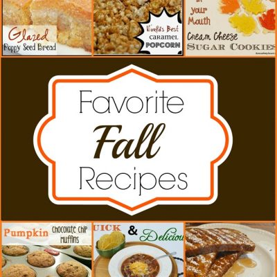 My Favorite Fall Recipes