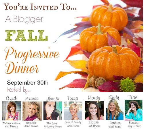 fall progressive dinner