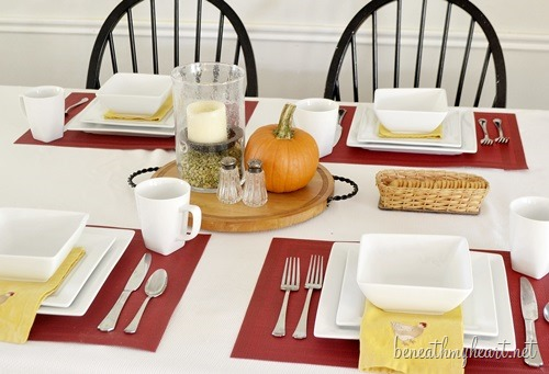 Fall Tablescape with Better Homes and Gardens and Giveaway