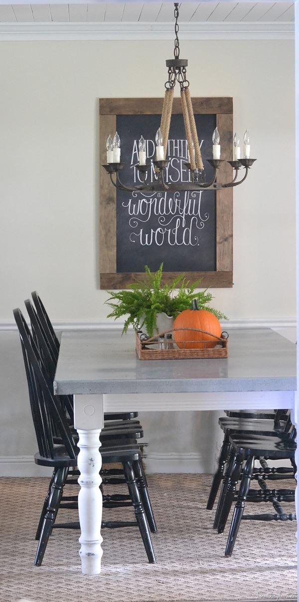 Diy Zinc Top Kitchen Table Beneath My