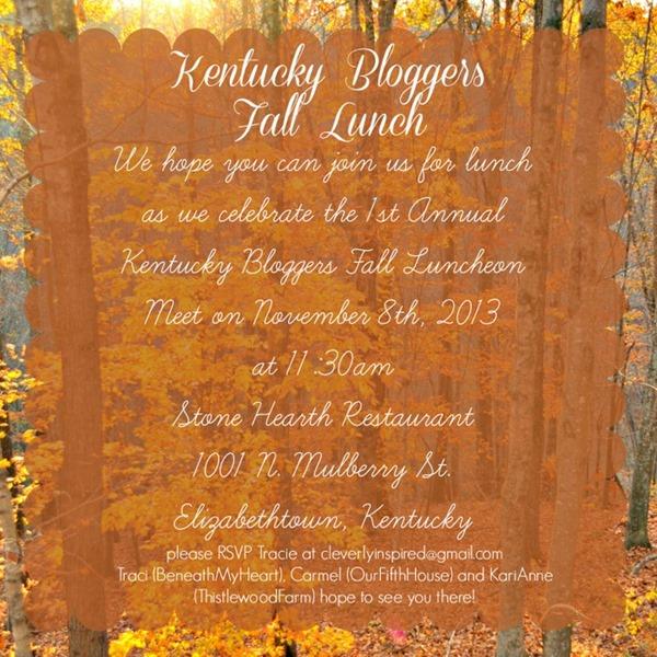 fall lunch invite