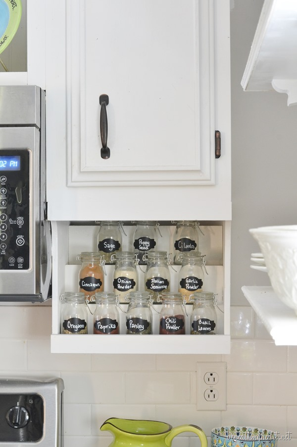 Attrayant Diy Spice Rack
