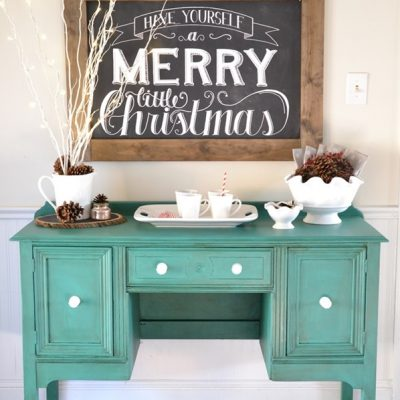 Green Buffet Makeover