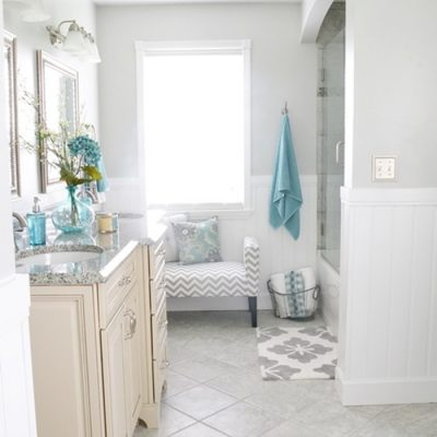 Robin's Bathroom Makeover Reveal {Part Two}