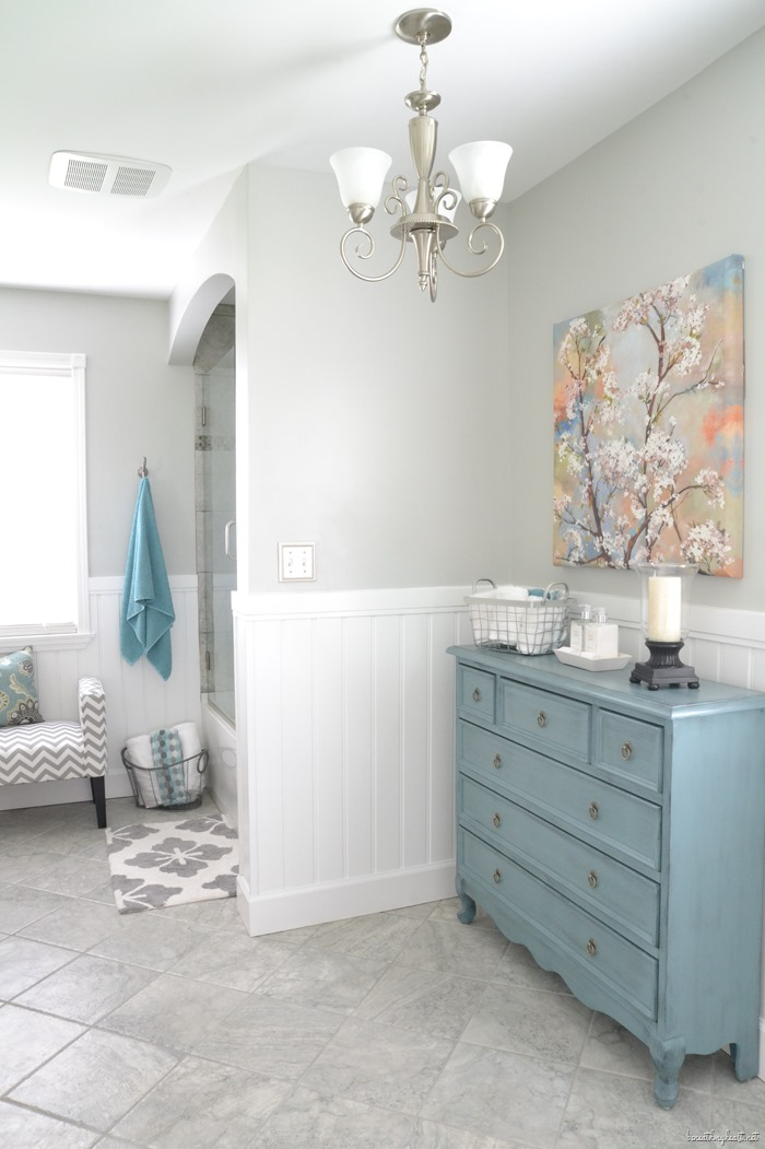 Details on Robin's Bathroom Makeover (and bedroom ...