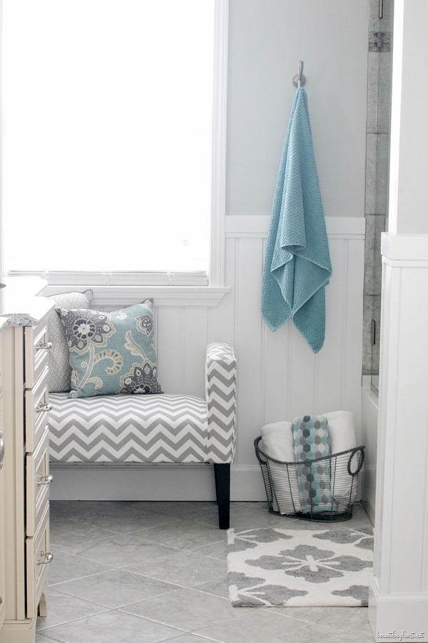 Robin's Bathroom Makeover Reveal {Part One}