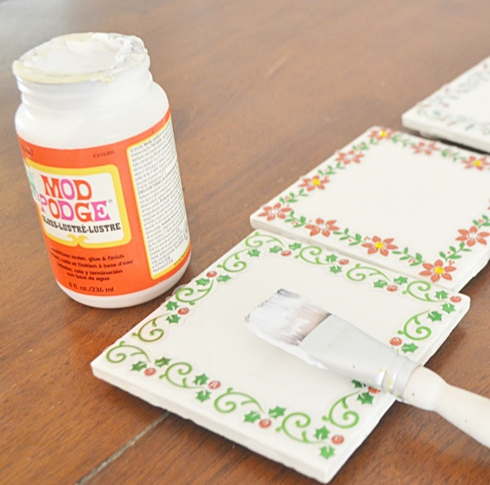 Inexpensive DIY Hostess or Teacher Gift {Tile Coasters} - Beneath My ...