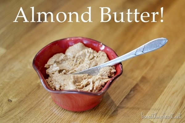 almond butter with blendtec blender