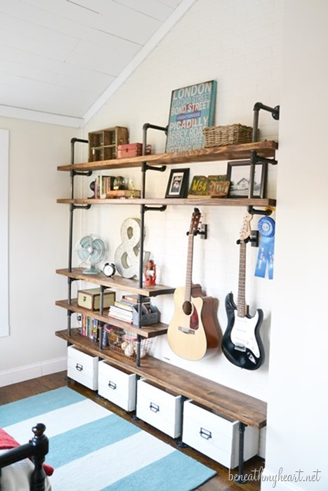 diy wood rolling storage crates
