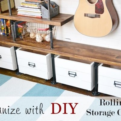 More DIY Storage Crates {and Cameo Winner!}