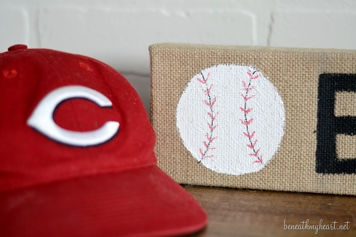 diy burlap canvas art