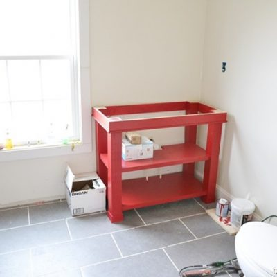 Seeing RED! {Upstairs Update}