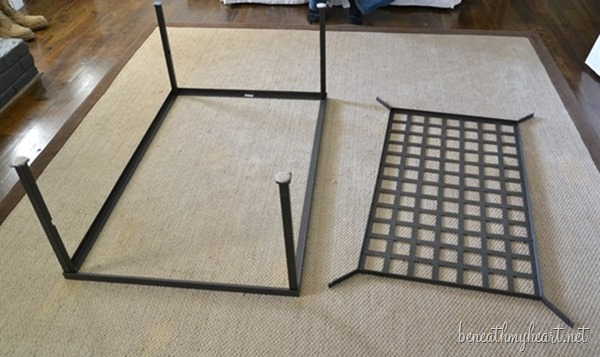 Coffee Table Makeover {Industrial} - Beneath My Heart