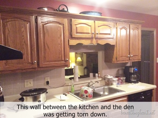 Clint and Mary\'s Kitchen Makeover Reveal - Beneath My Heart