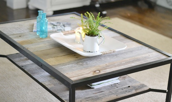diy industrial coffee table 2