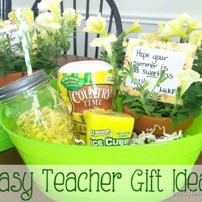 Easy Teacher Gift Idea