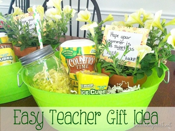 easy teacher gift